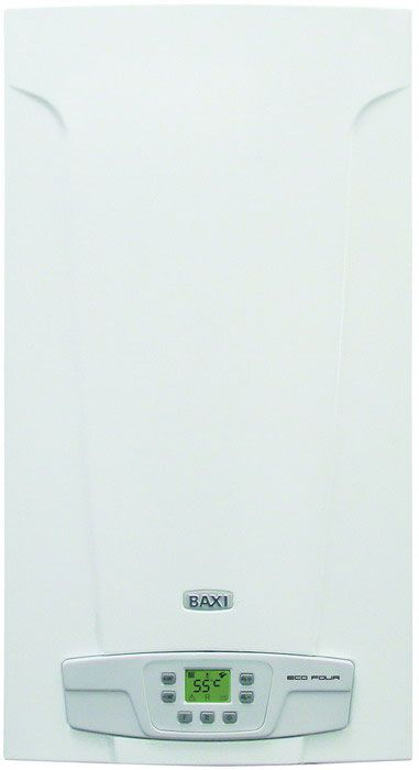 Котел газ. BAXI ECO Four 1.14F (турбо,1-контур)